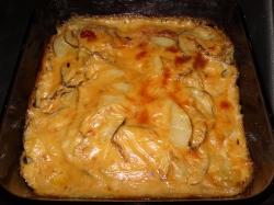 Finished Potatoes Au Gratin