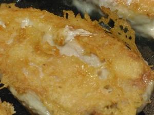 Asiago Crust on Chicken
