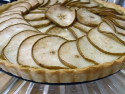 Finished Pear Tart