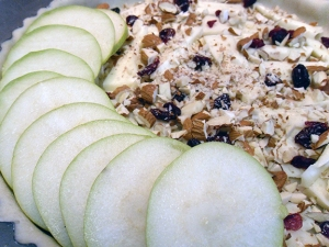 Layer Pears on Filling