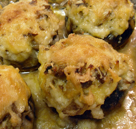 Fungus Stuffed, Covered, Baked and Browned: Crab Stuffed Mushrooms ...