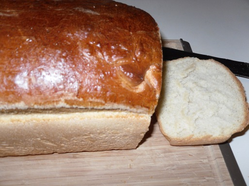Finished Loaf with Egg Wash