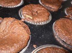 Baked Peanut Butter Cupcakes