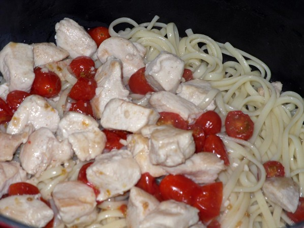 Chicken Caprese Ready for Topping