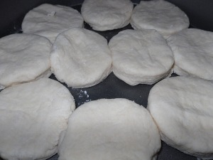 Biscuits Ready for Oven