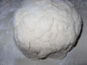 Make Biscuit Dough into a Ball