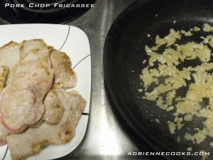 Remove Chops to Make Sauce