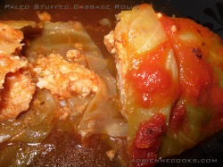 Finished Paleo Stuffed Cabbage Rolls copy