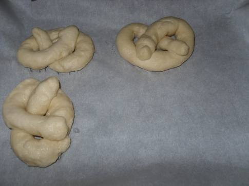 Pretzels Before Baking