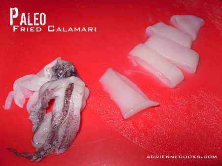 Squid Cut Up
