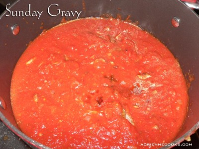 Simmering Sunday Gravy