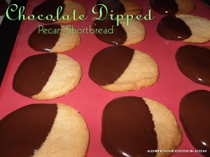 Chocolate Pecan Shortbread