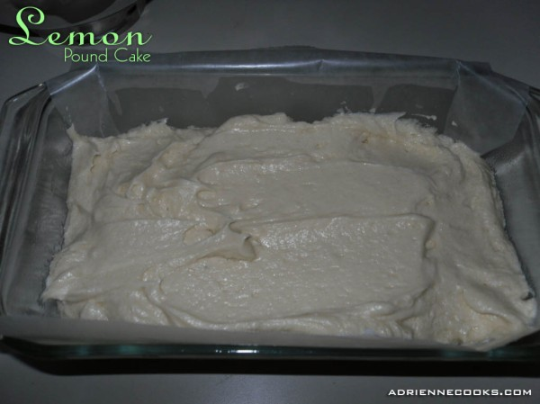 Spread Batter in Pan