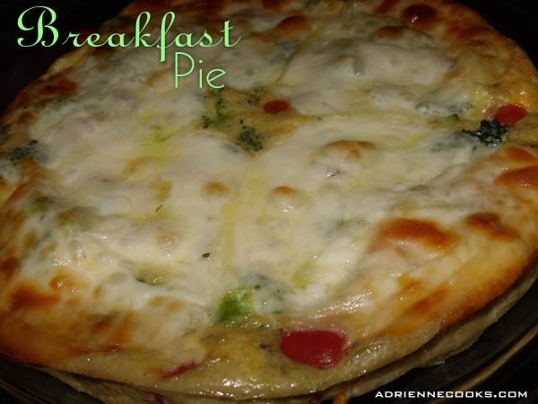 Baked Breakfast Pie
