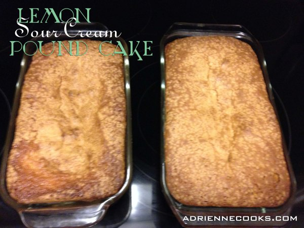 Lemon Pound Cake Baked