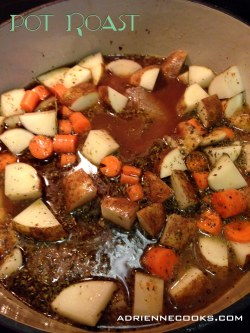 Pot Roast Braising