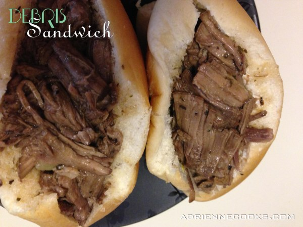 Debris Sandwiches