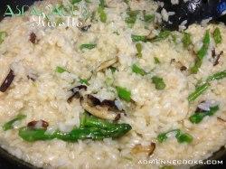 Asparagus Mushroom Risotto