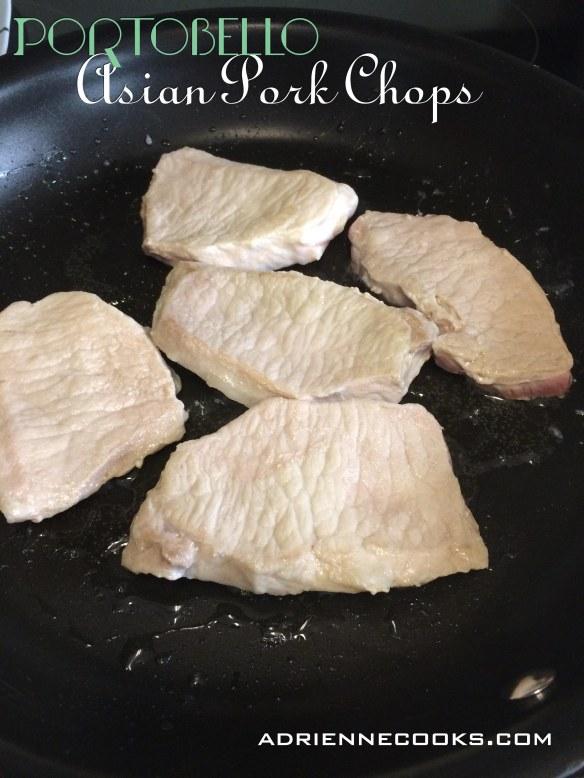 Portobello Asian Pork Chops Low Carb & Gluten Free   adriennecooksdotcom