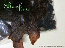 Finished Beef Jerky